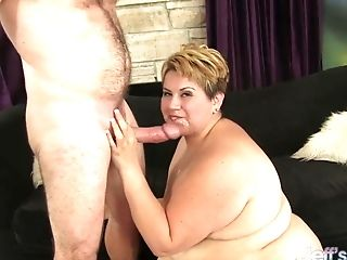 Matures Bbw Bonita Latina Fucks Old Man