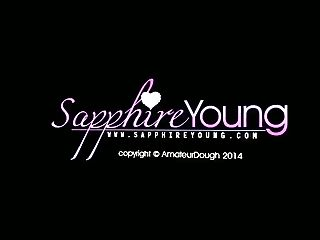 Sapphire Youthful By The Window