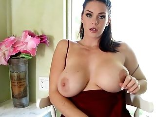 Sexy Alison Plays With Her Big Tits And Raw Gash