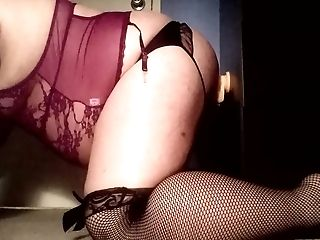 Bbm Self-fucking My Tranny Submissive Bootie