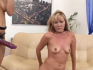 Two Insatiable Lezzies Like To Masturbate With Monster Lovemaking Playthings