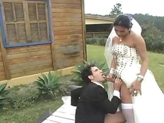 Transsexual Bride Tops Hubby