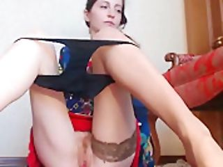 Sexy Doll With Heals Upskirt