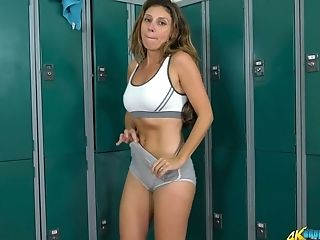 Sport Chick Chloe Gets Naked And Taunts With Yummy Butt And Perky Tits