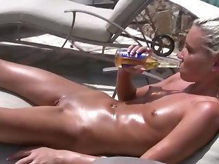 Nasty Nubile Relaxes Fully Naked