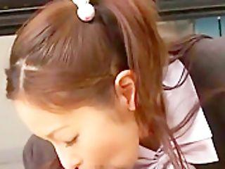 Crazy Japanese Model Mai Shimizu In Amazing Point Of View, Duo Jav Scene