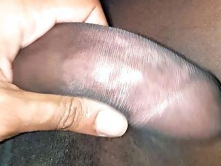 Experiencing Myself In Black Pantyhose