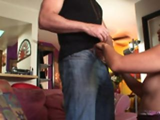 Blonde Chick Vs Three Well Talented Black Fellows In This Group Sex Scene