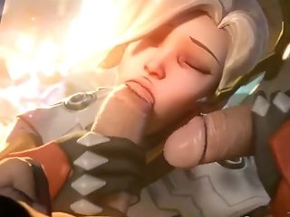 Grace And Pharah Get Hammered Hard Along Side Other Heroes
