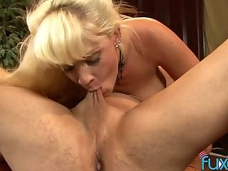 Lubricious Blonde Tempts Her Best Friend's Hubby