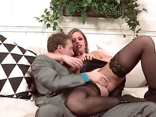 Provocative Lady Turns Man On And He Shows What A Spunky Romp Is